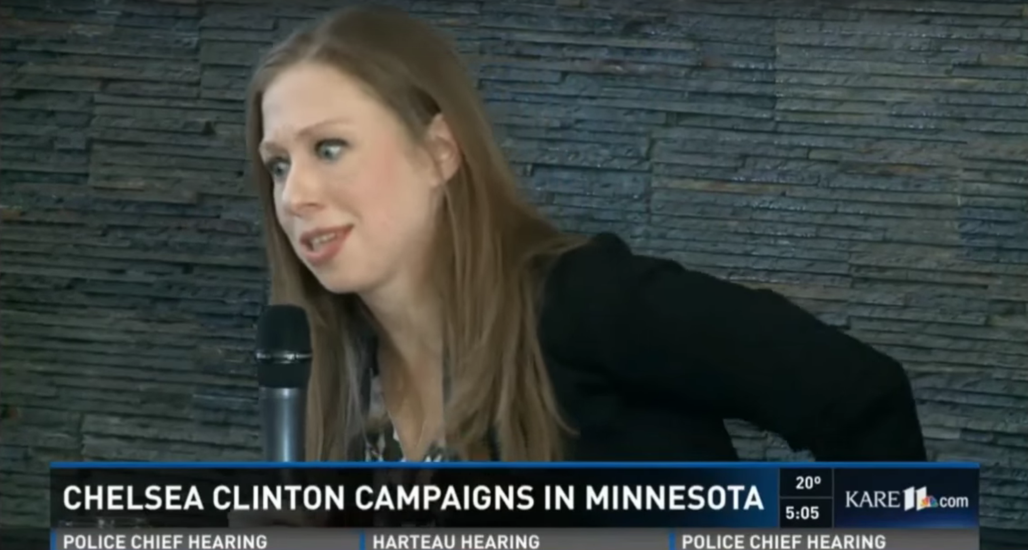 Watch Chelsea Clinton call Bernie... 'President Sanders'