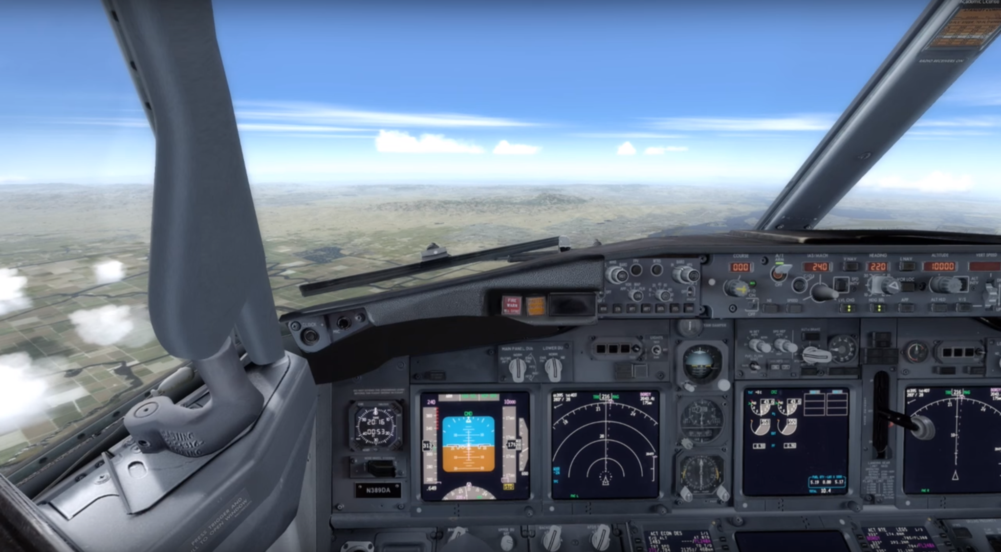 GUIDE: How to Land a 737 In An Emergency If The Pilots Can Not (Video)