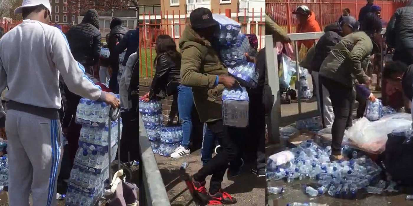 London Marathoners Stunned As Thugs Steal All The Water