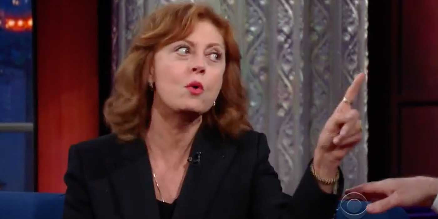 Susan Sarandon: I Fear Hillary's Record More Than Trump's Wall