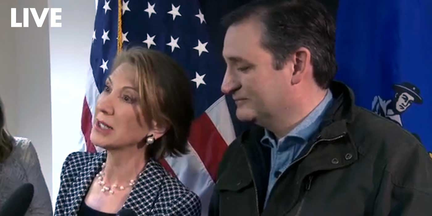 VIDEO: Ted Cruz Dodges Question About His Marriage