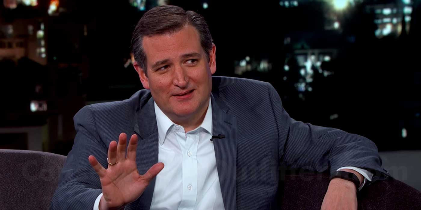 VIDEO: Ted Cruz Jokes About Running Over Donald Trump