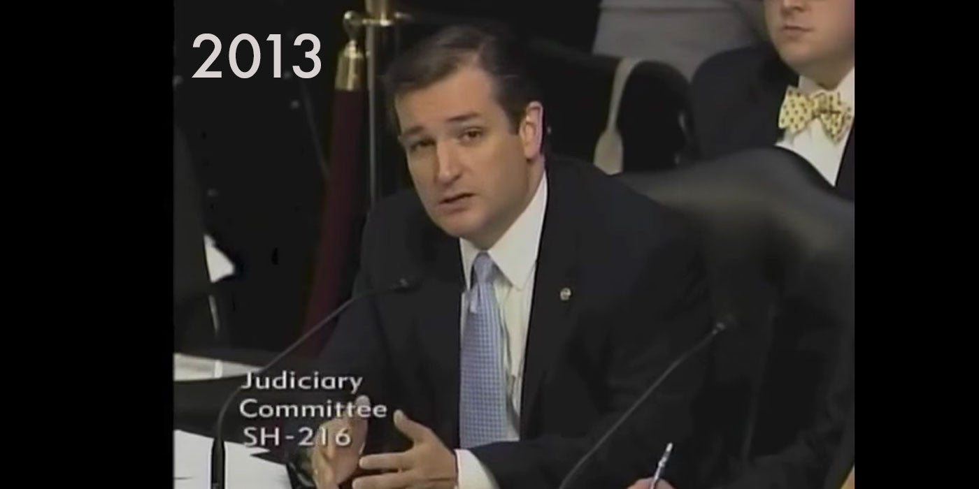Ted Cruz in 2013: We Should Expand Legal Immigration