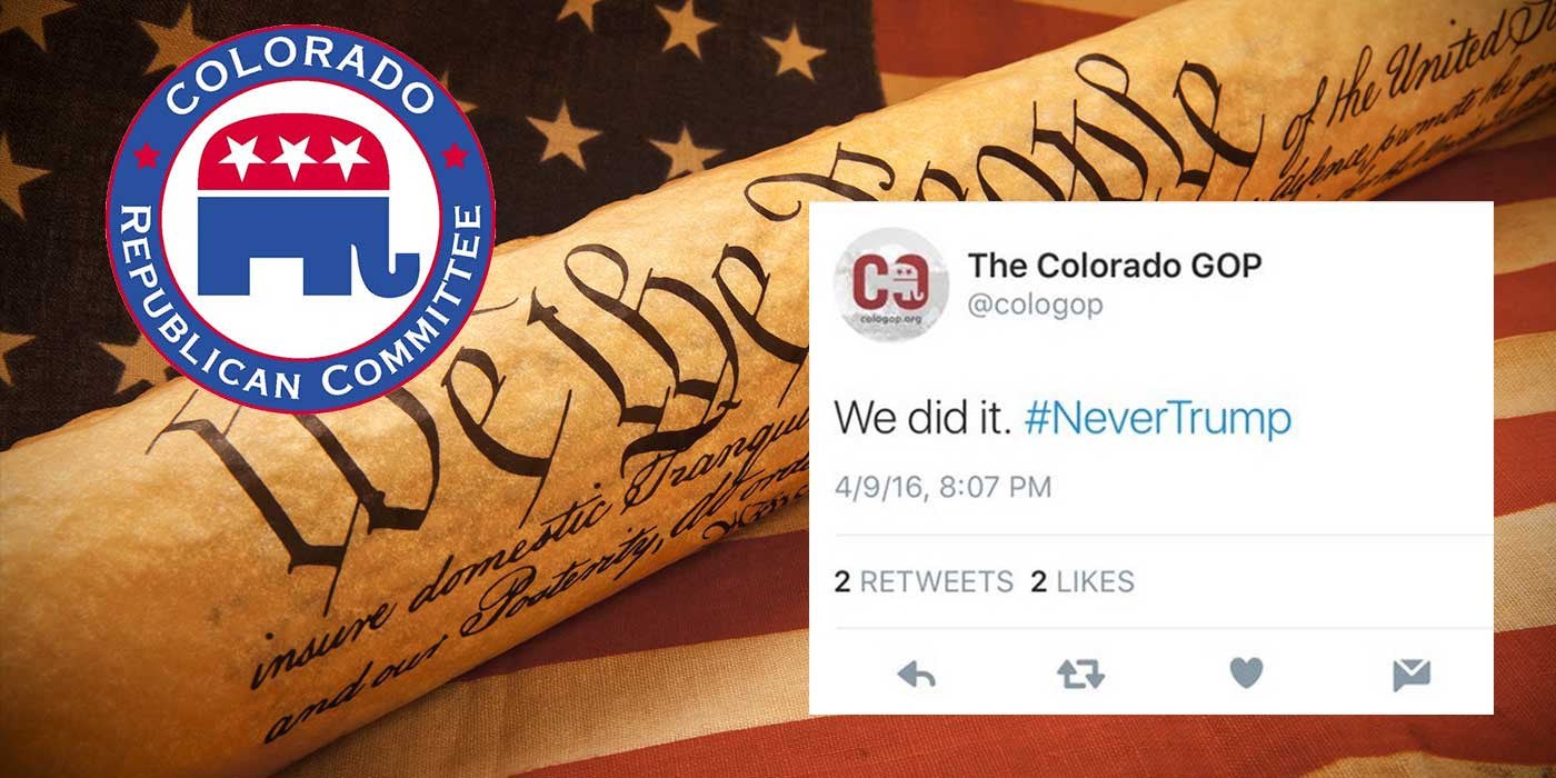 The Deleted Colorado GOP Tweet Sent Out After Cruz Won