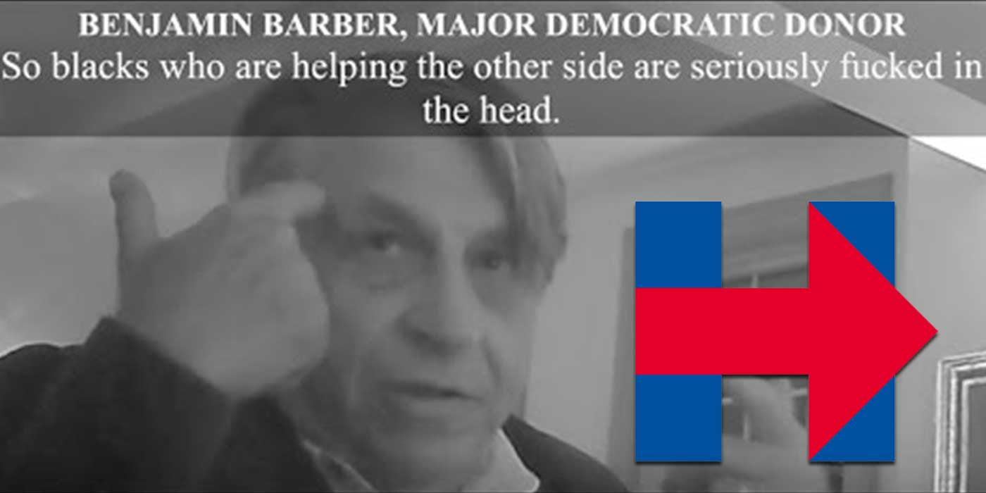 Top Hillary donor caught on camera saying Blacks 'F*cked in Head'