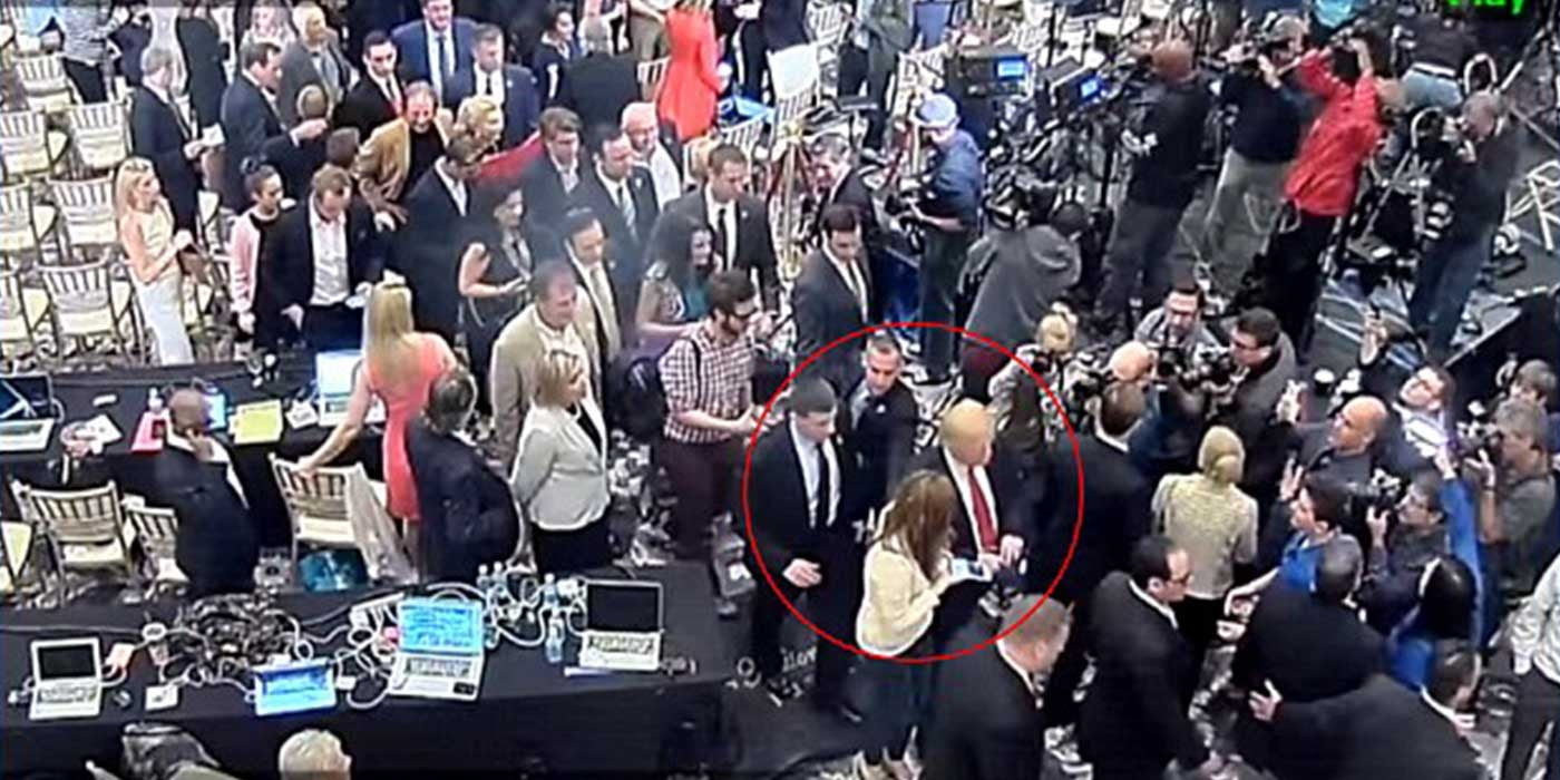 Trump Campaign Manger Arrested And Charged With Battery