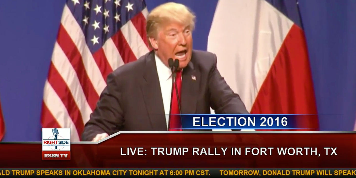 LIVE Stream: Donald Trump Rally in Fort Worth, TX (2-26-16)