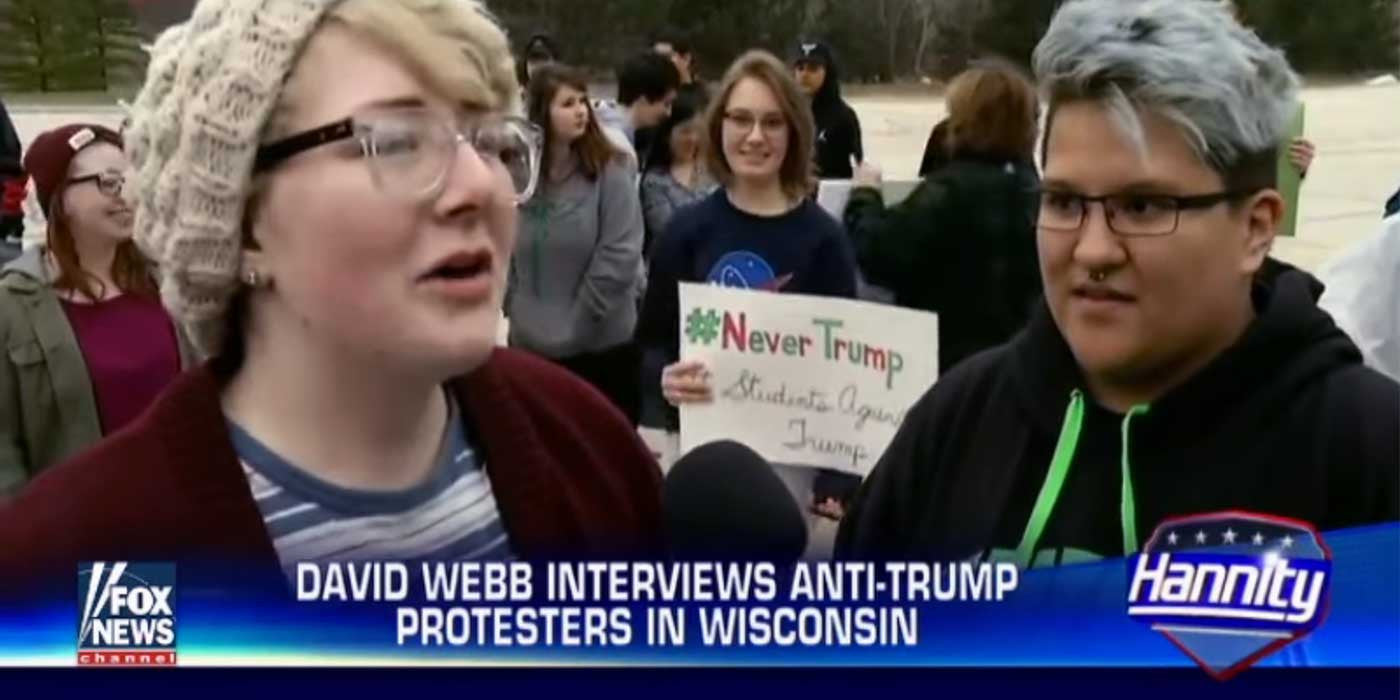Trump Protesters Can't Explain Why They Are Protesting!