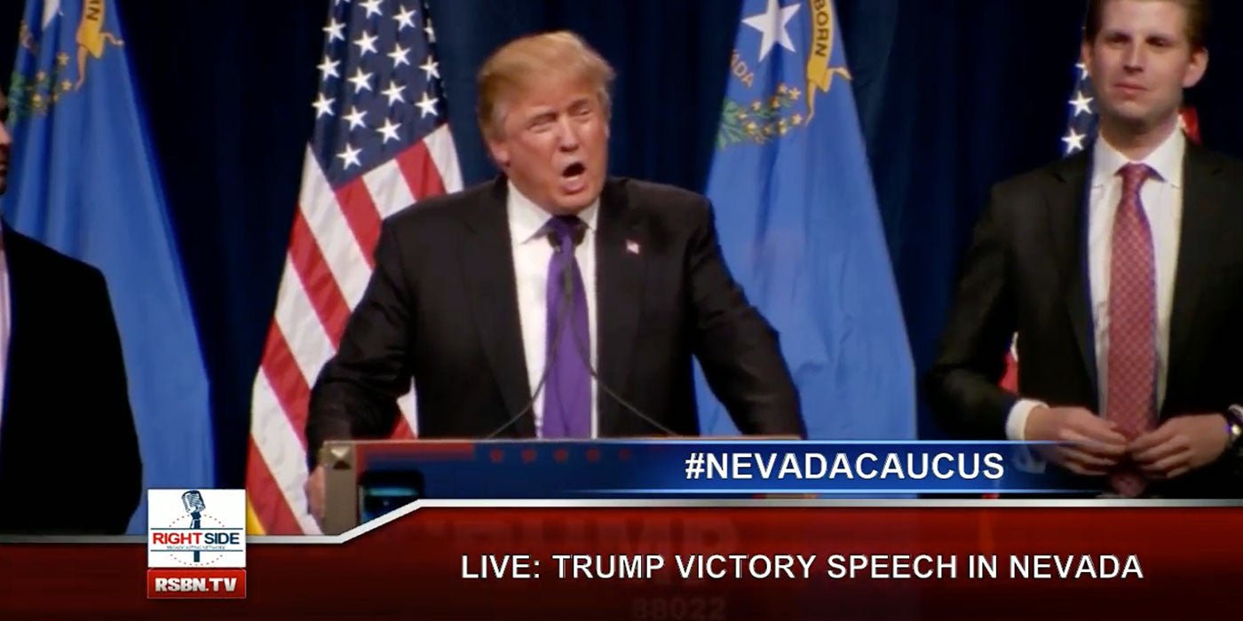 LIVE STREAM: TRUMP VICTORY SPEECH FROM NEVADA