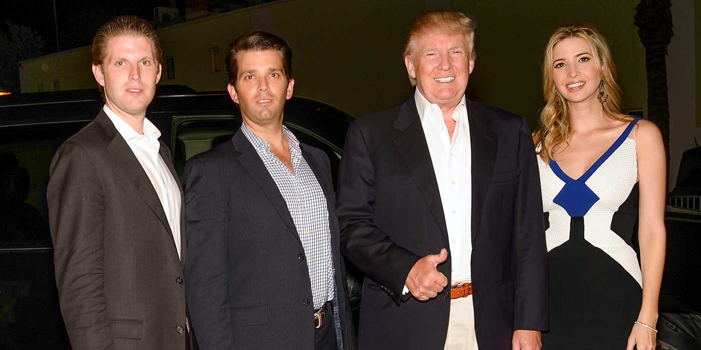 Two Of Donald Trump's Kids Are Not Voting For Him
