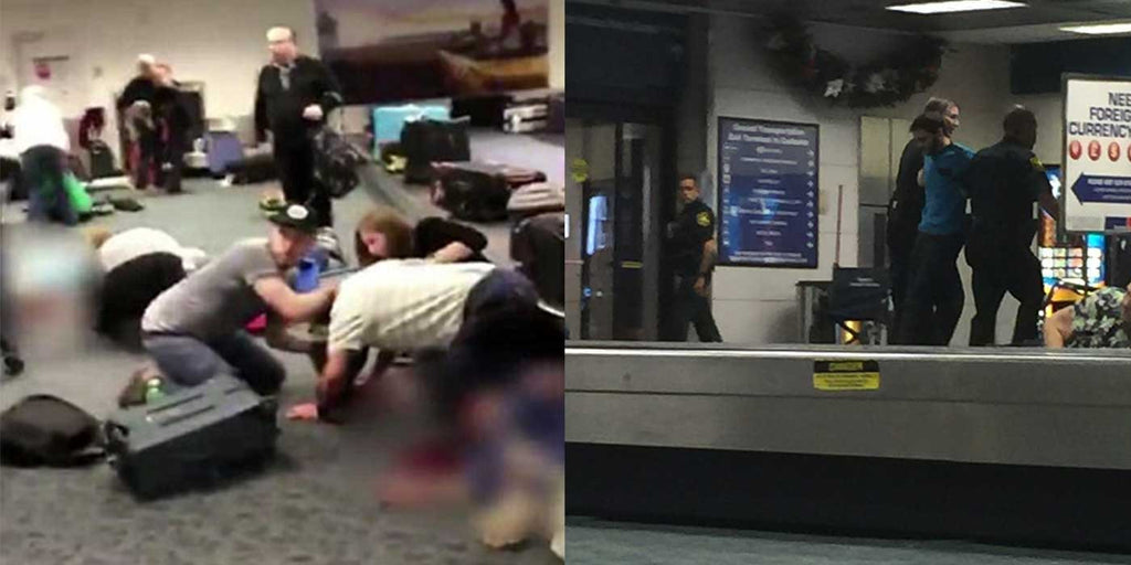 UPDATE: New Video Shows Horrific Florida Airport Shooting (GRAPHIC)
