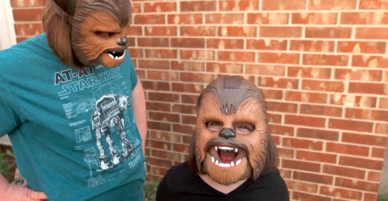 UPDATE: The Chewbacca Mask Woman Got A Huge Surprise