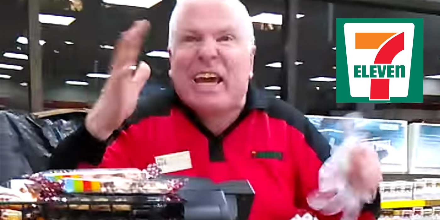 conservative outfitters news tagged  video 7 11 employee has a complete me own over pizza