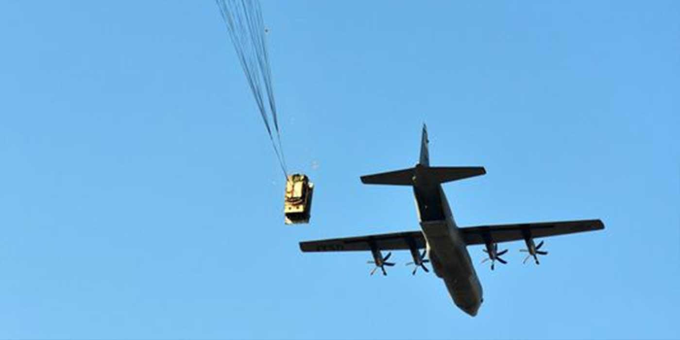 VIDEO: Army Humvee Airdrop Goes Horribly Wrong