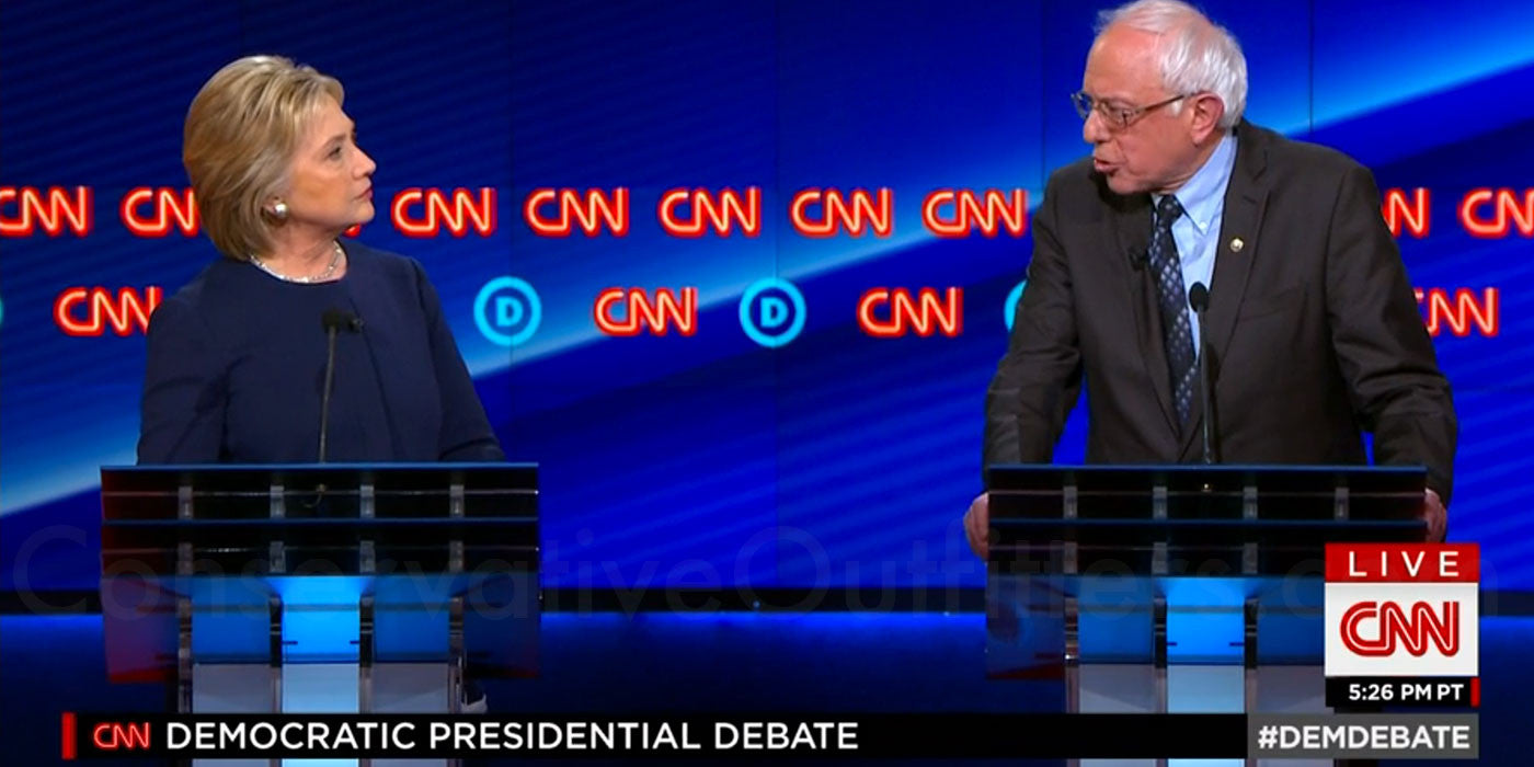 VIDEO: Bernie Tells Hillary To 'Shut Up' During Debate