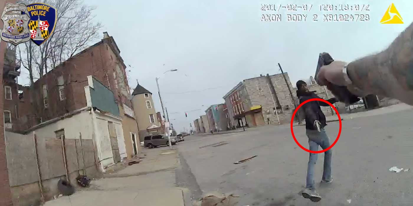 VIDEO: Body-cam footage proves officer was forced to fatally shoot man