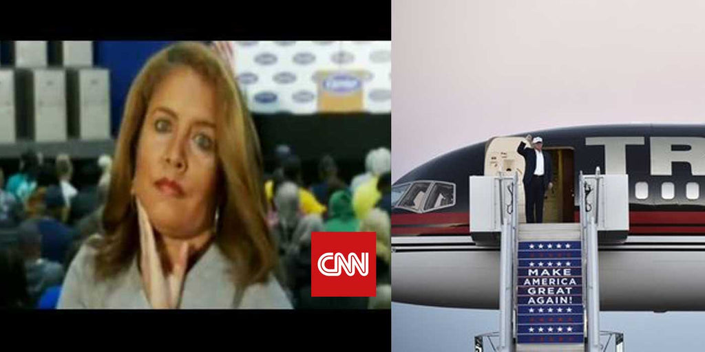 VIDEO: CNN caught on camera joking about Trump's plane crashing