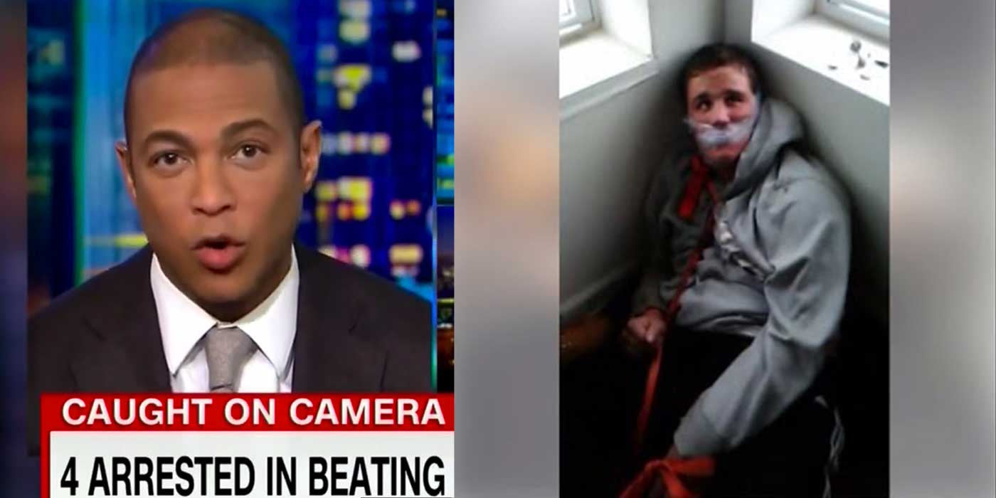 VIDEO: CNN's Don Lemon Says 'It Wasn't Evil' To Kidnap And Torture Man