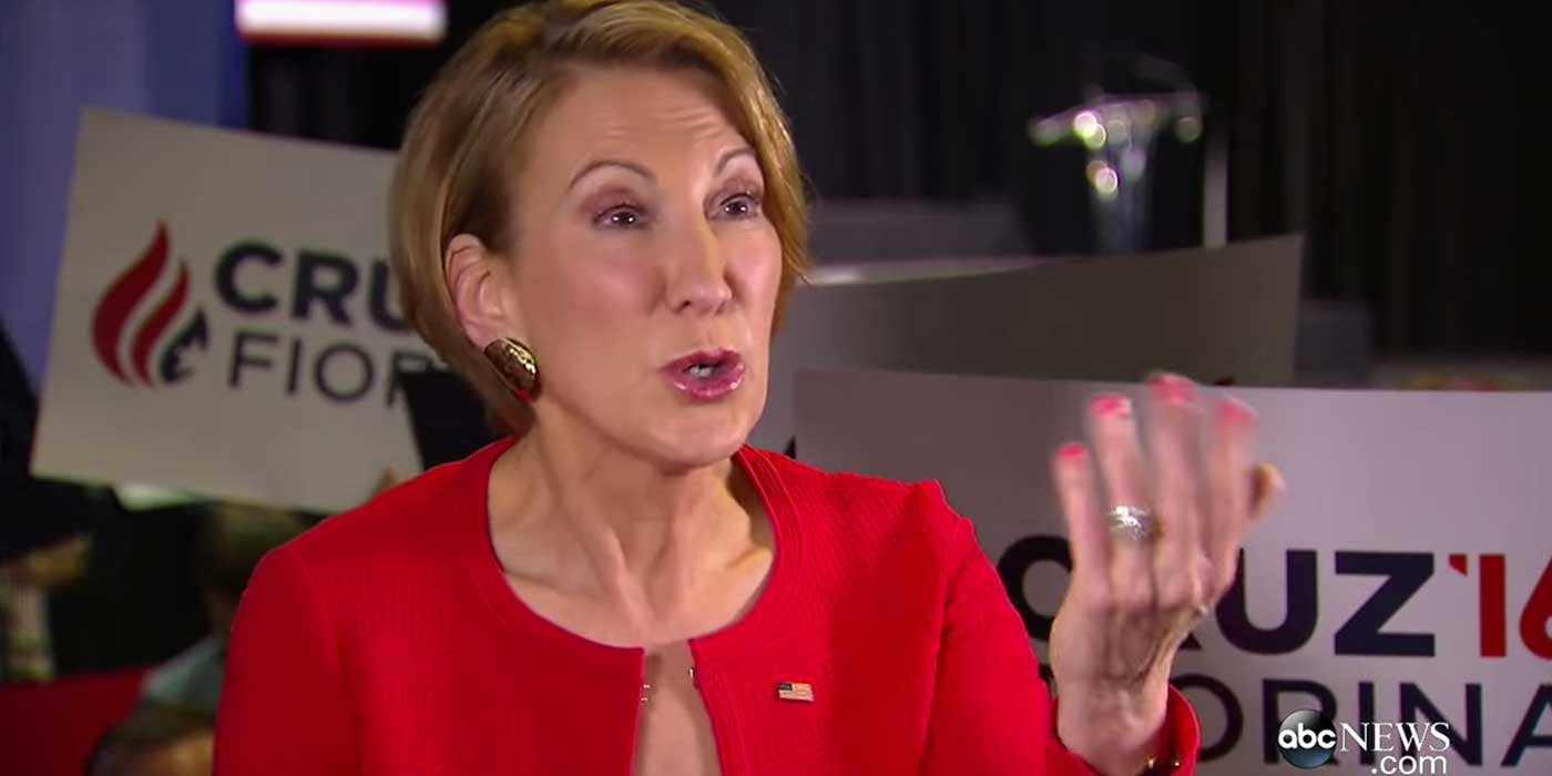 VIDEO: Carly Fiorina Defends Attacking Ted Cruz
