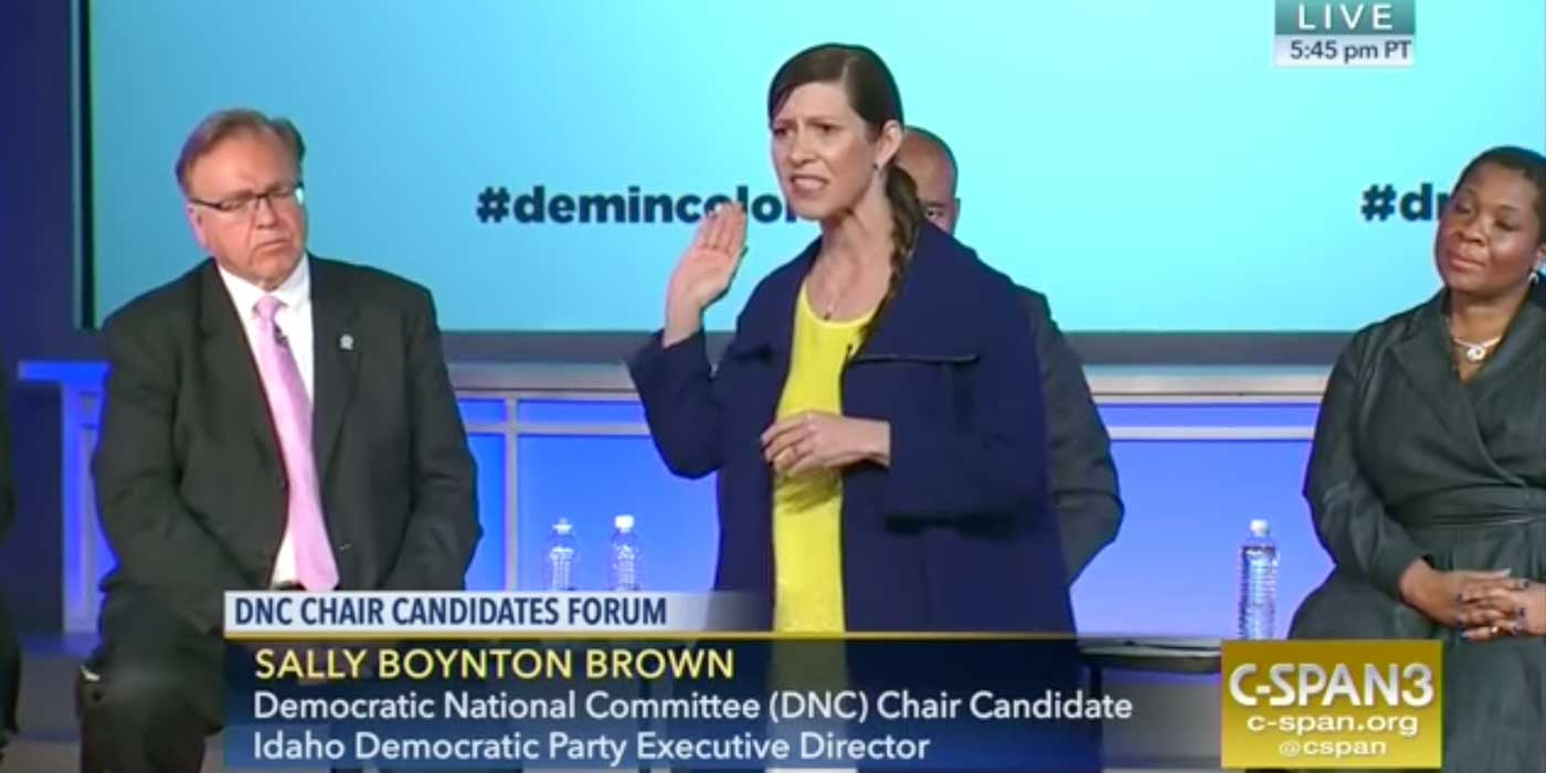 VIDEO: DNC Chair Candidates Caught On Camera Bashing White People...