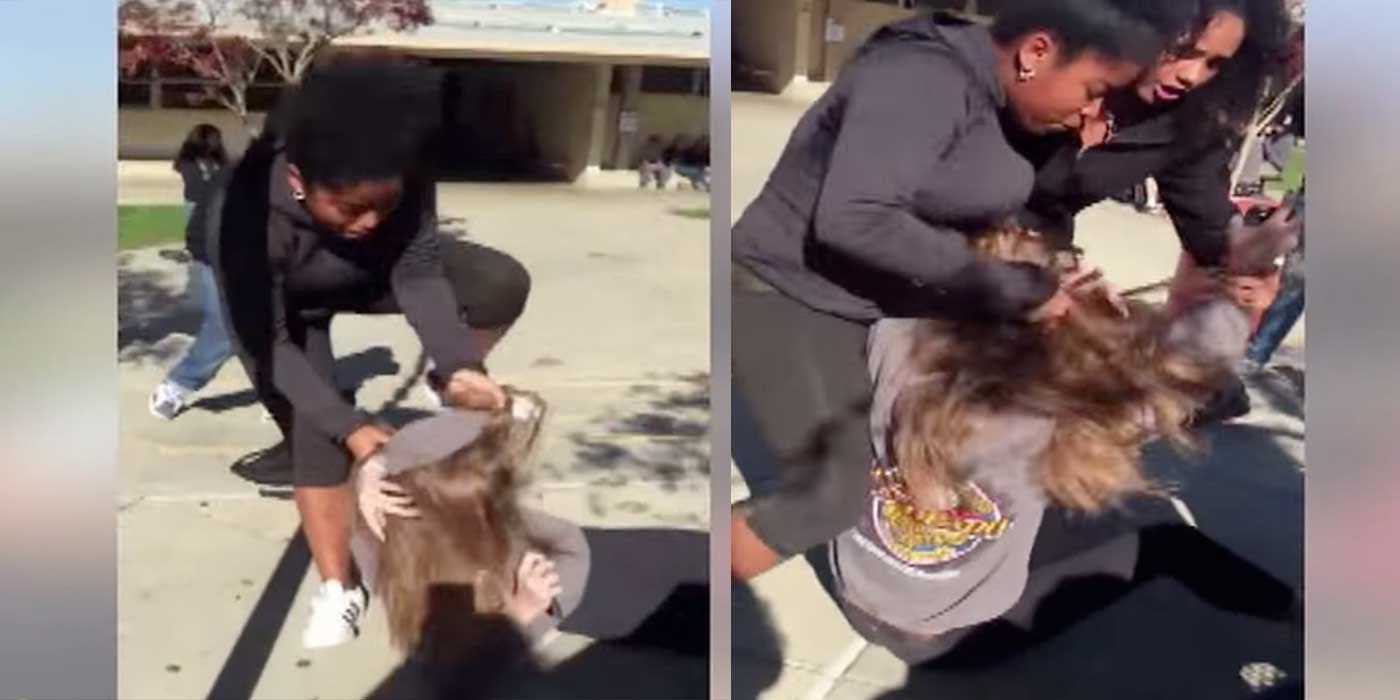 VIDEO: High School Girl Brutally Beaten On Camera For Supporting Trump