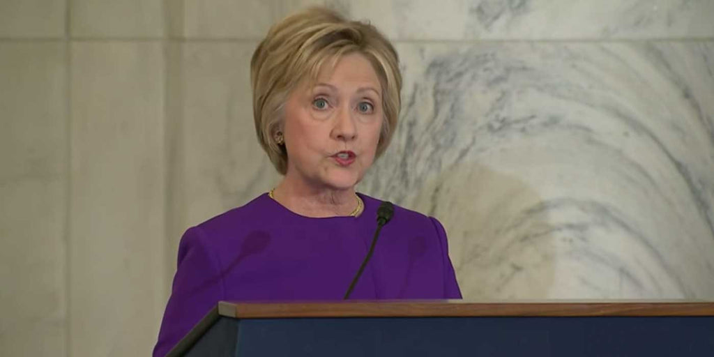 VIDEO: Hillary Clinton blames epidemic of 'FAKE NEWS'