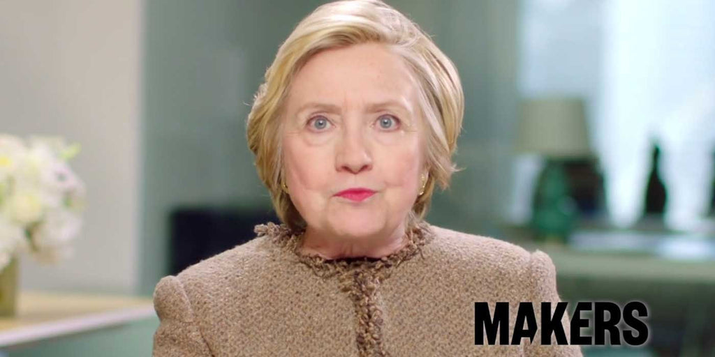 "VIDEO: Hillary Clinton says ""The future is female"""