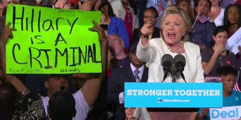 VIDEO: Hillary Loses It When Bill 'Rapist' Protester Interrupts Rally
