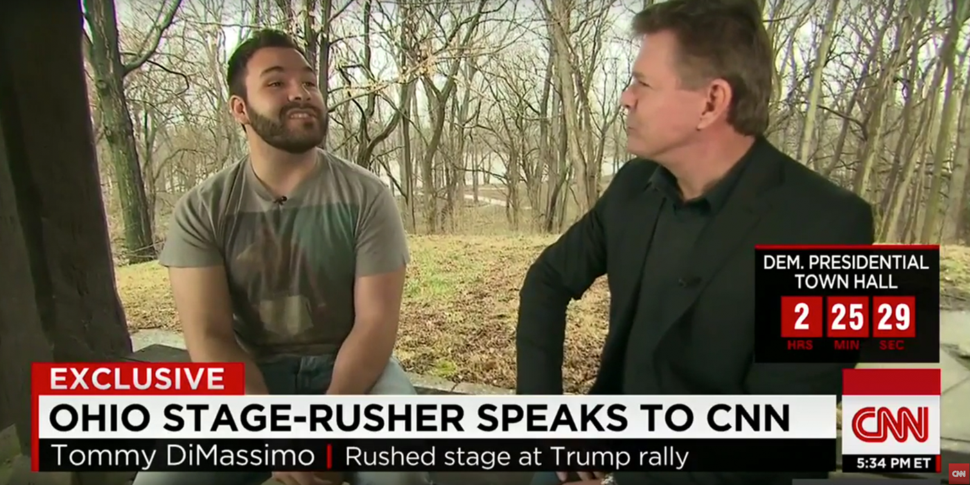 VIDEO: Interview With Man That Attacked Donald Trump