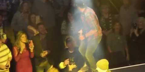 VIDEO: Luke Bryan Punches Man During Nashville Concert