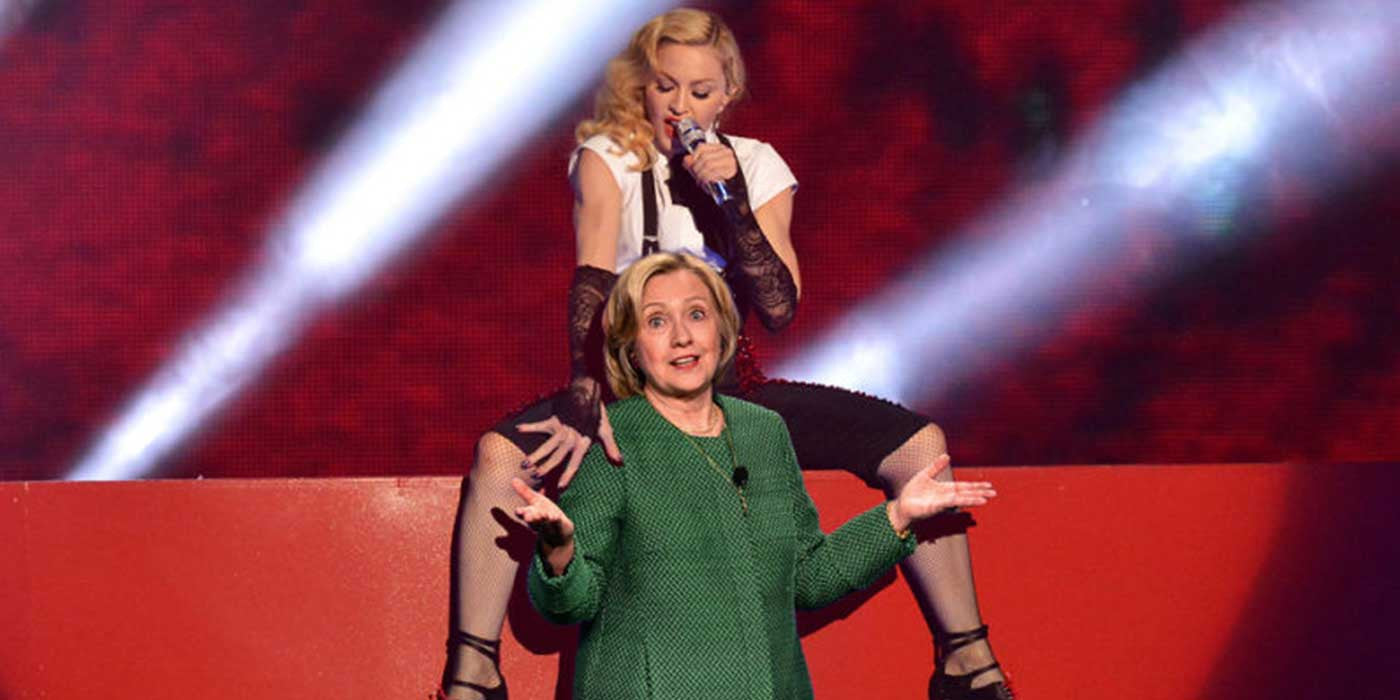 WATCH: Madonna Promises Blow Jobs For Fans That Vote Hillary (VIDEO)