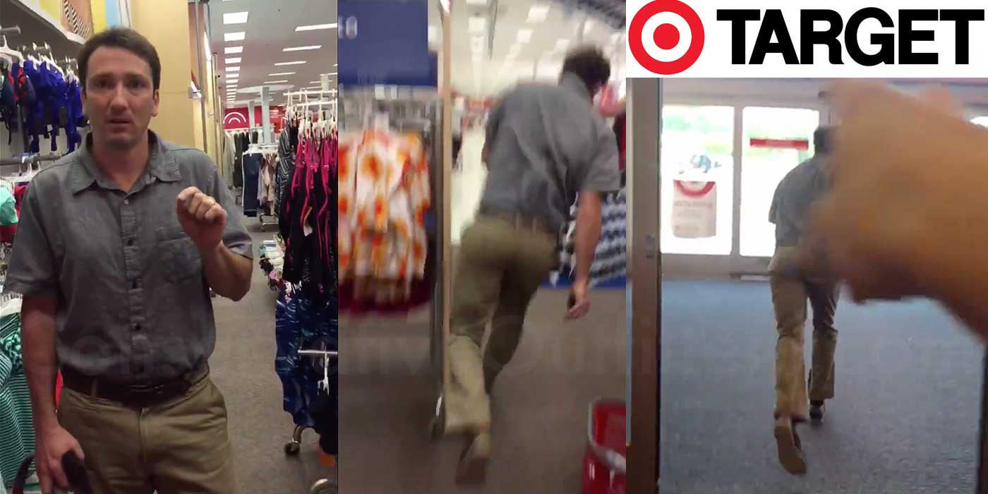 VIDEO: Man Caught On Camera Stalking Women At Target