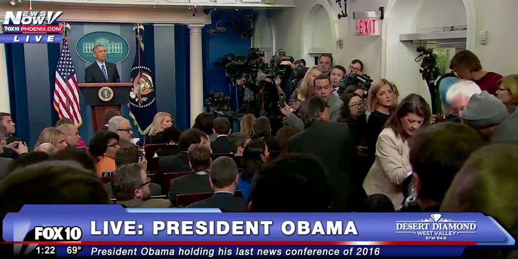 VIDEO: Medical Emergency Stops Obama's Final Press Conference