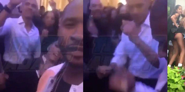 "VIDEO: Obama Caught On Camera Dancing with Usher to ""Hotline Bling"""