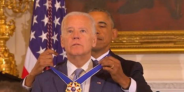 VIDEO: Obama Surprises Biden With Presidential Medal of Freedom