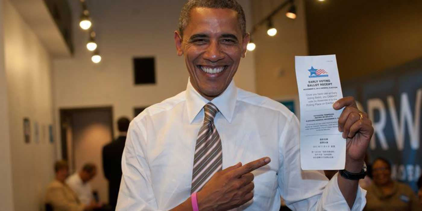 VIDEO: President Barack Obama tells illegal aliens to VOTE!