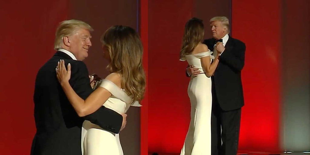 VIDEO: President Donald Trump's First Dance With First Lady Melania