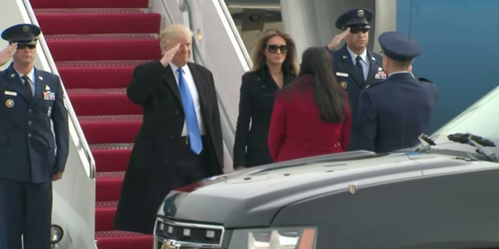 VIDEO: President-elect Donald Trump Arrives In Washington, D.C.