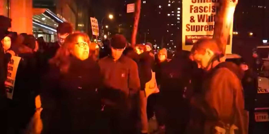 VIDEO: Professor has meltdown over conservative event at NYU