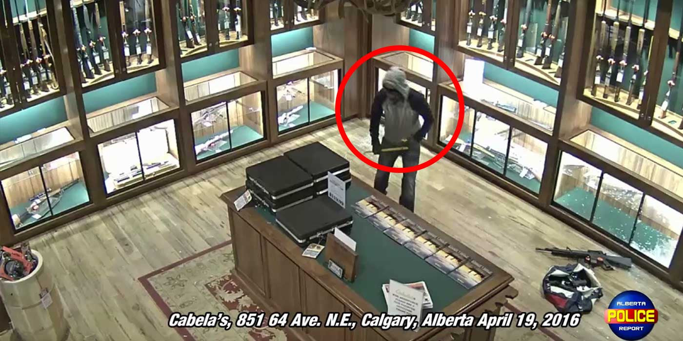 VIDEO: Thief Steals $10,000 Worth Of Guns From Cabela's