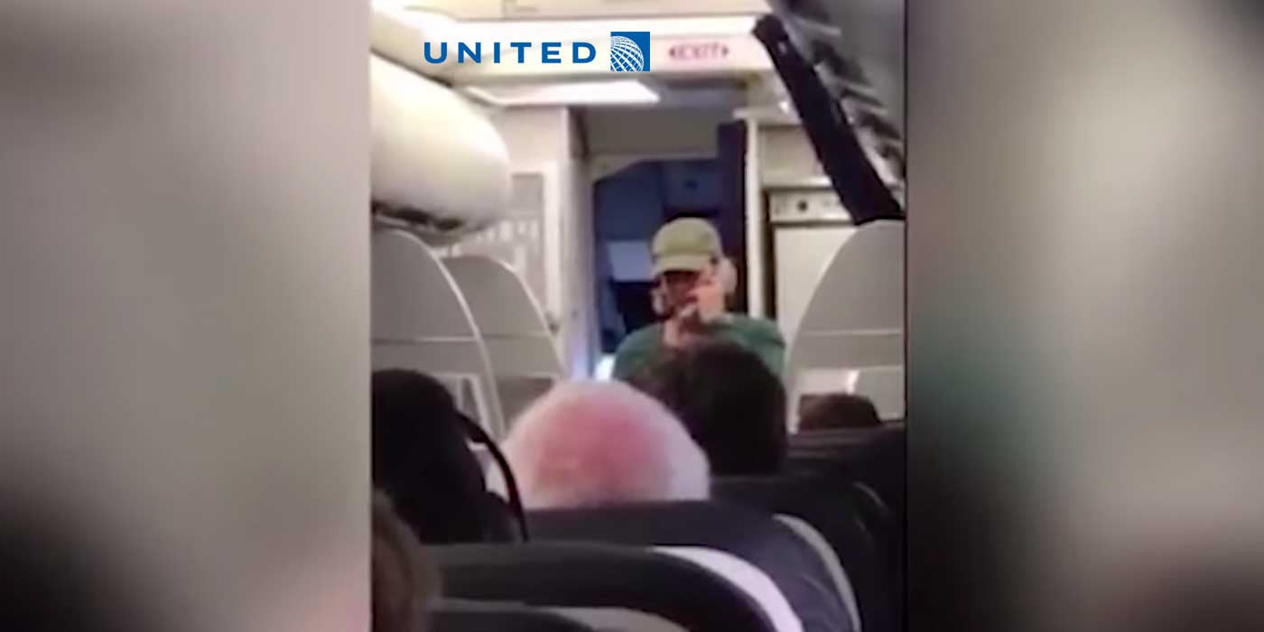 VIDEO: United Airlines Removes Pilot After Bizarre Anti-Trump Rant