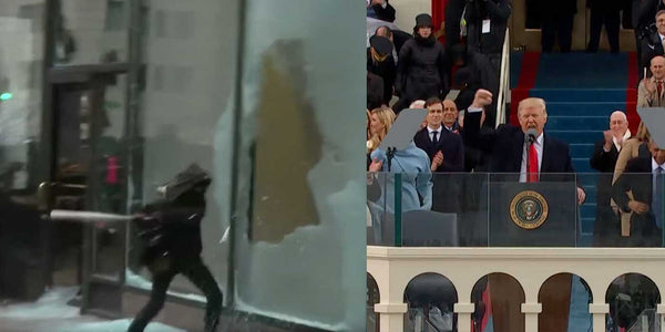 VIDEO: Violent Inauguration Protesters Smash Windows, Destroy Property