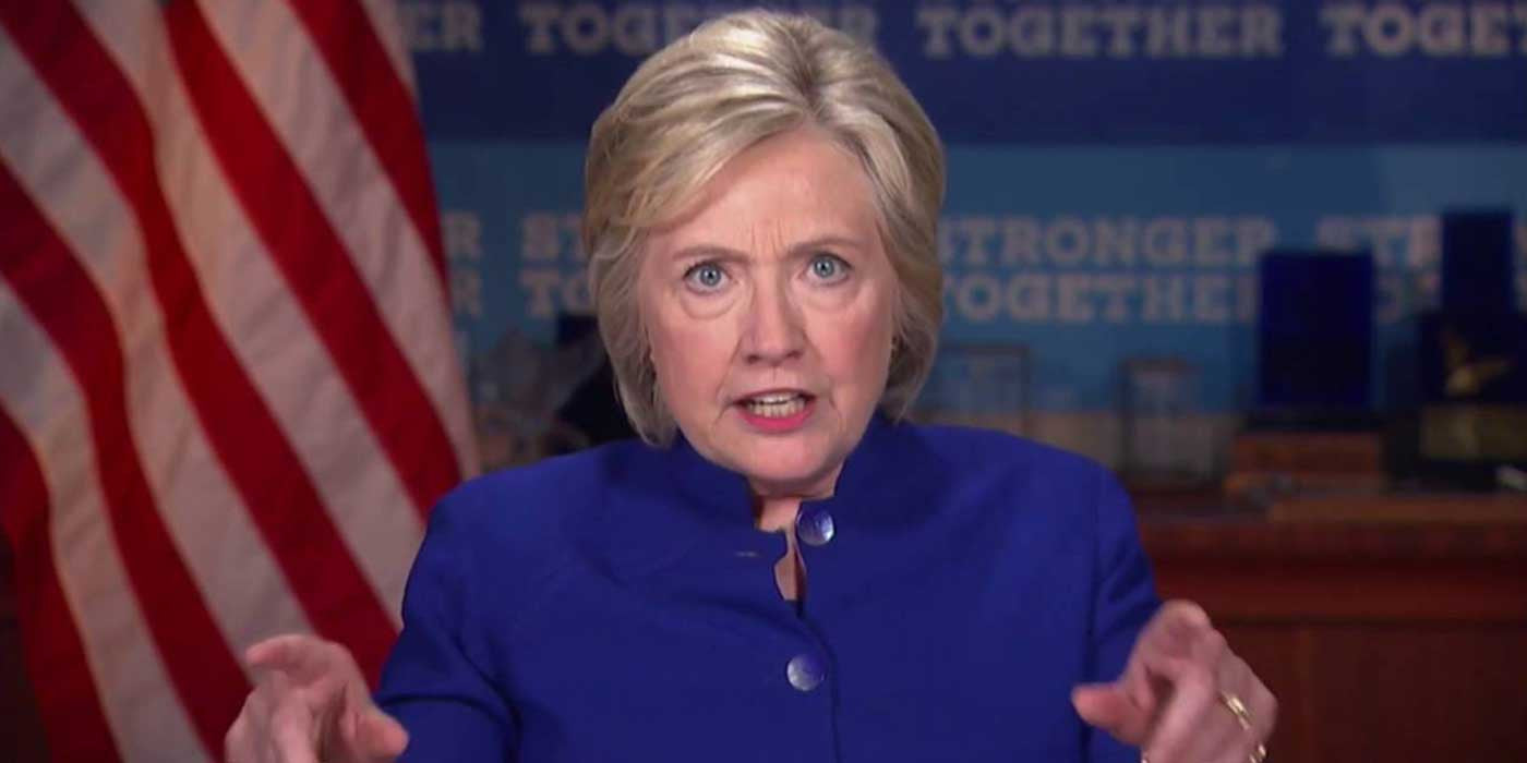 "VIDEO: Hillary loses it on camera ""Why Aren't I 50 Points Ahead?"""