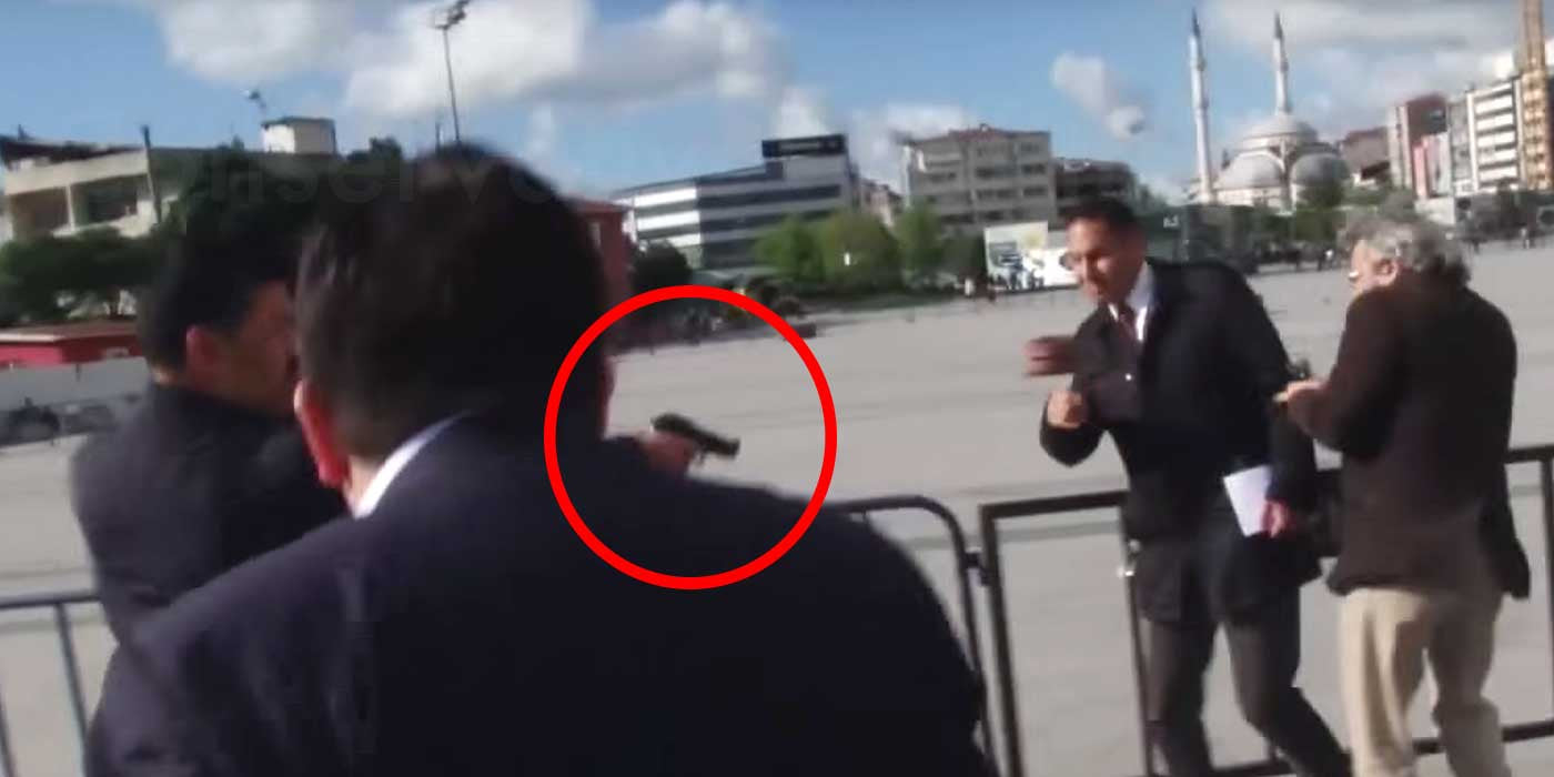 Shocking Assassination Attempt Outside Courthouse Caught On Camera