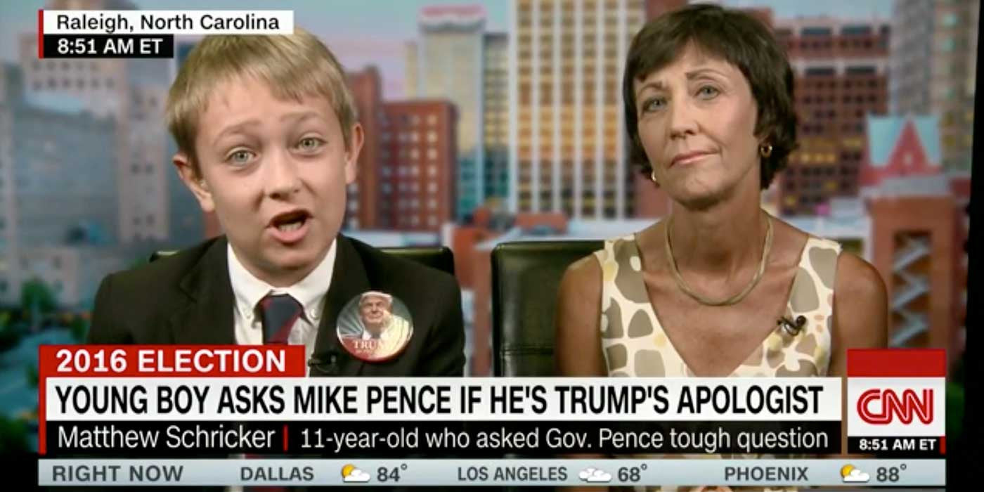 WATCH: 11-year-old Trump supporter gives perfect answer to CNN (VIDEO)