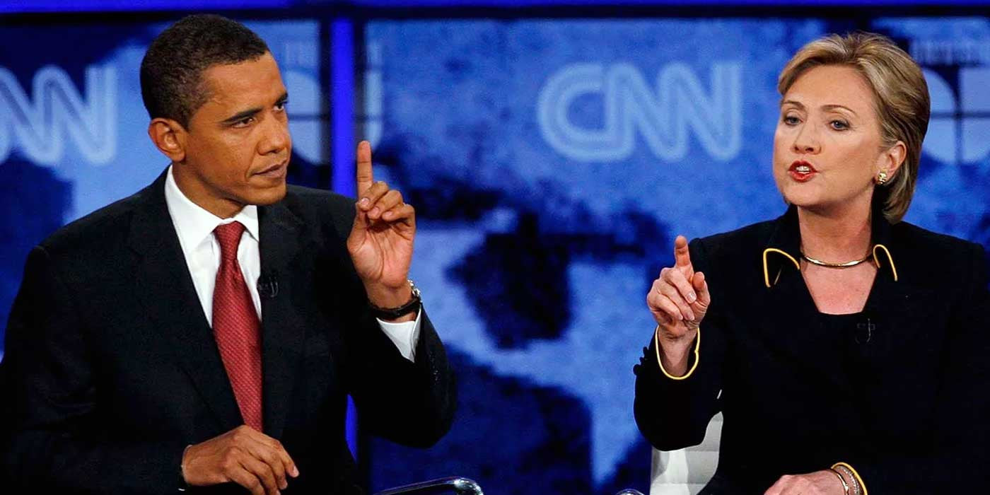 WATCH: Barack Obama destroys Hillary Clinton on stage in 2008 (VIDEO)