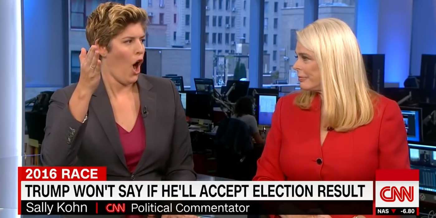 WATCH: CNN panel flips out when guest says voter fraud exists (VIDEO)