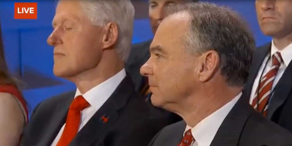 WATCH: Did Bill Clinton Fall Asleep During Hillary's Speech (VIDEO)