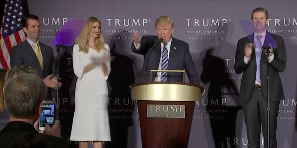 WATCH: Donald Trump's speech at new Washington, D.C. hotel (VIDEO)