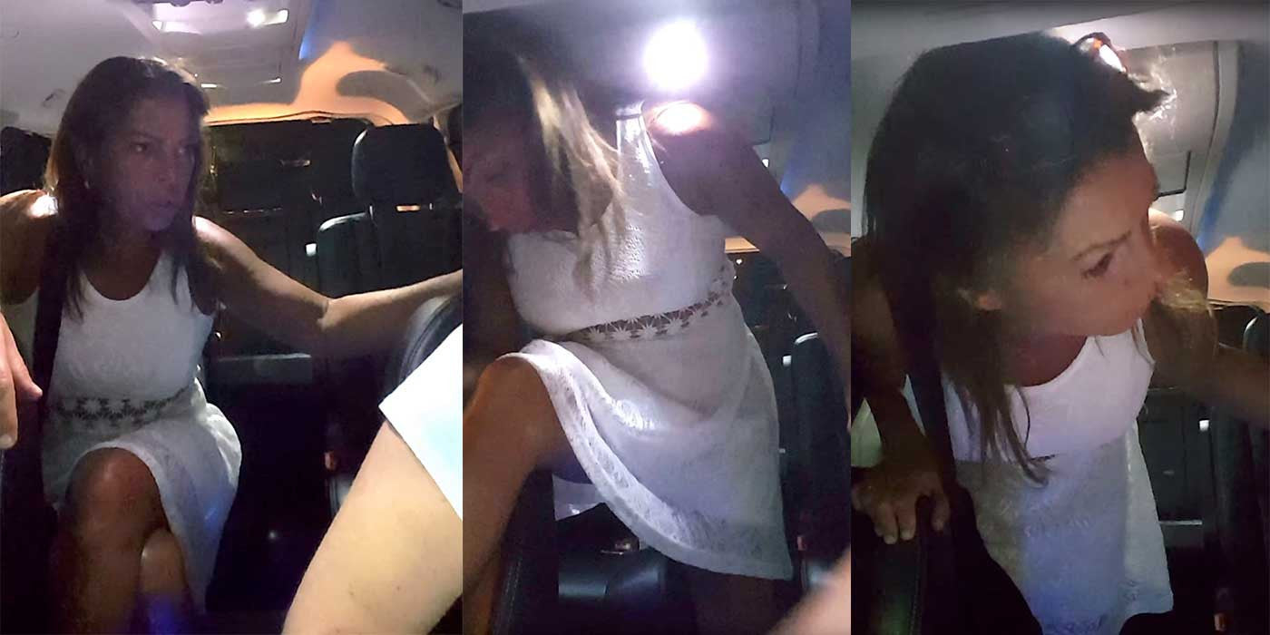 WATCH: Drunk Girl Turns Into Uber Rider From Hell (VIDEO)